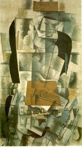 Braque Woman with Guitar