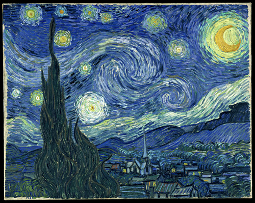 VincentVanGogh_StarryNight